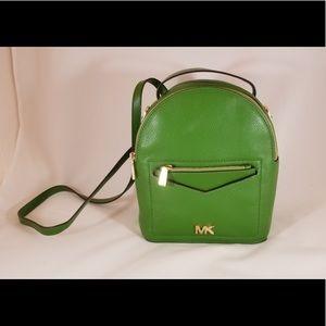 MICHAEL KORS Leather Backpack/Crossbody
